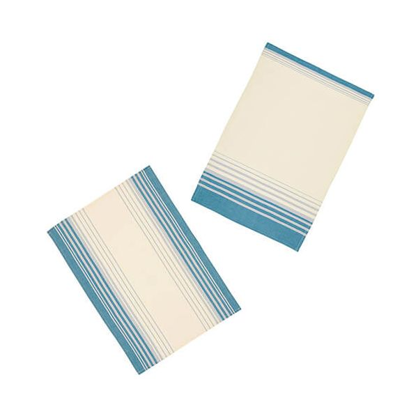 KitchenCraft Jacquard Stripe Tea Towels 2 Piece Set