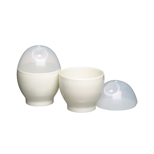 KitchenCraft Set of Two Microwave Egg Boilers