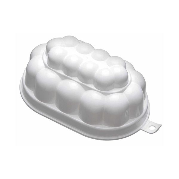 KitchenCraft White Plastic 500ml Jelly Mould