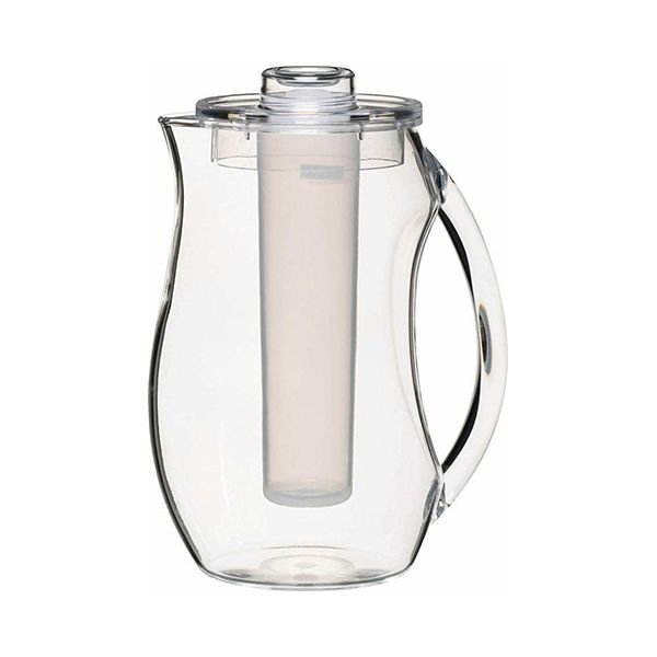 Coolmovers Polycarbonate Jug with Ice Core and Lid, 2.3 Litres