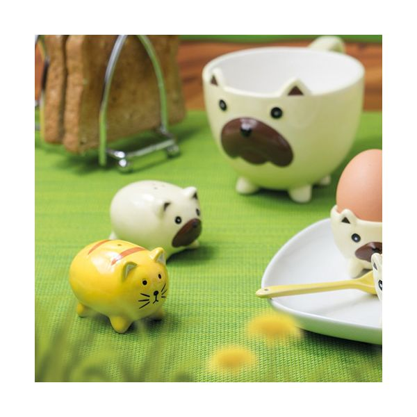 KitchenCraft Cat and Dog Salt and Pepper Shakers