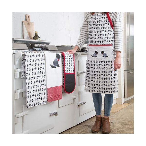 KitchenCraft Westie Dog Double Oven Glove