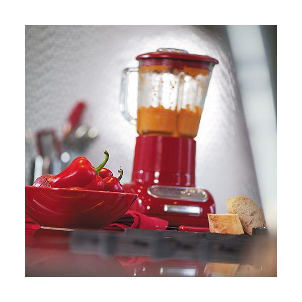 KitchenAid Artisan Empire Red Blender with Culinary Jar