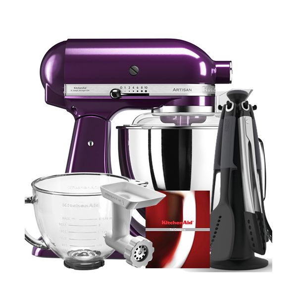 Kitchenaid Artisan Plumberry Food Mixer Ksm175psbpb