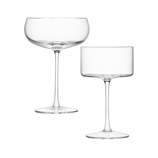 LSA LULU Champagne / Cocktail Glass Set Of Four