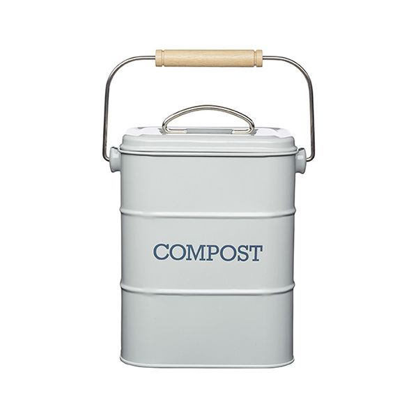 Living Nostalgia French Grey Compost Bin