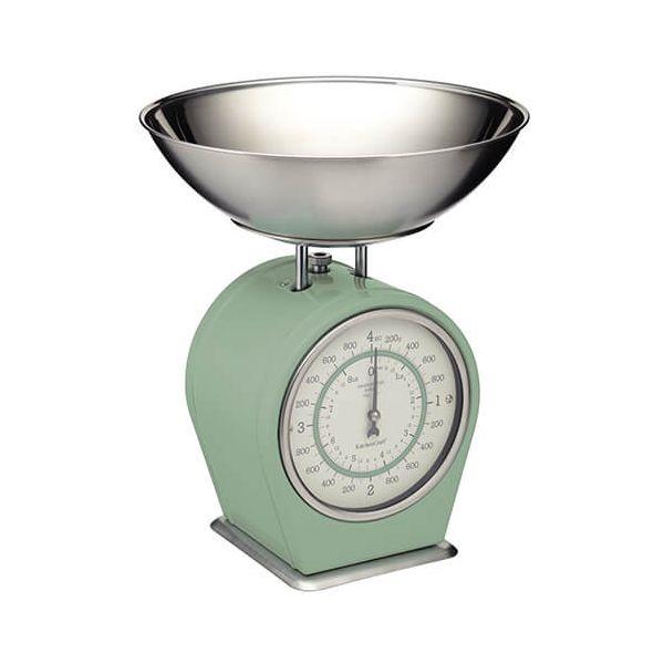 Living Nostalgia English Sage Green Mechanical Scales