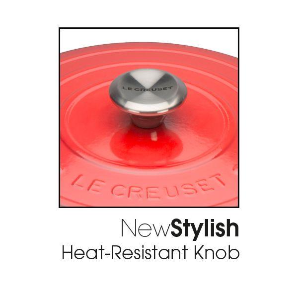 Le Creuset Signature Cerise Cast Iron 22cm Round Casserole