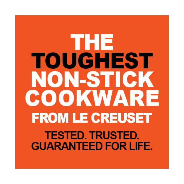 Le Creuset Toughened Non-Stick 22cm Shallow Frying Pan