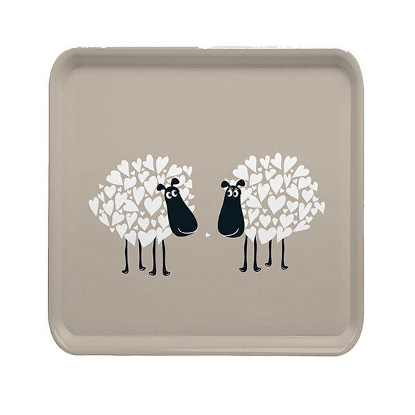 Melamaster Square Tray Sheep