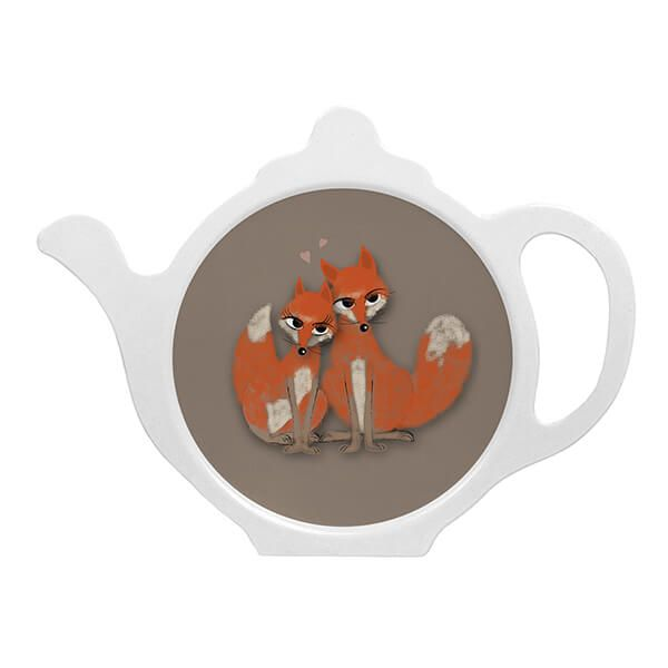 Melamaster Teabag Tidy Fox