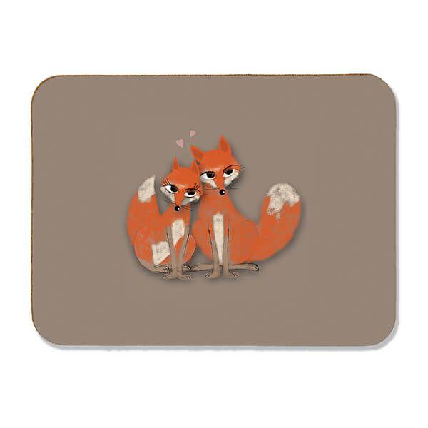 Melamaster Pastry Board Fox