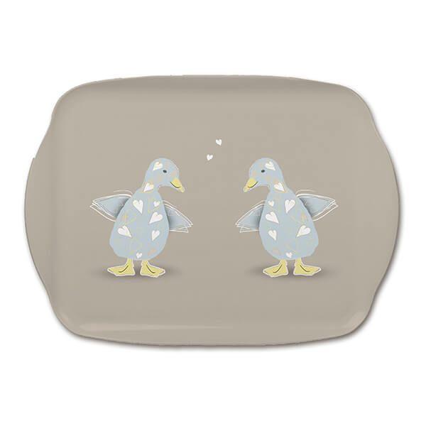 Melamaster Medium Tray Duck