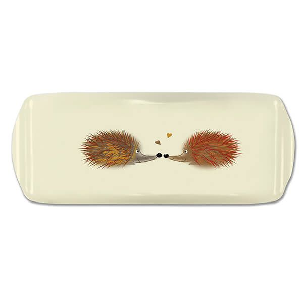 Melamaster Sandwich Tray Hedgehog