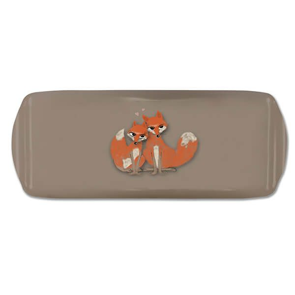 Melamaster Sandwich Tray Fox