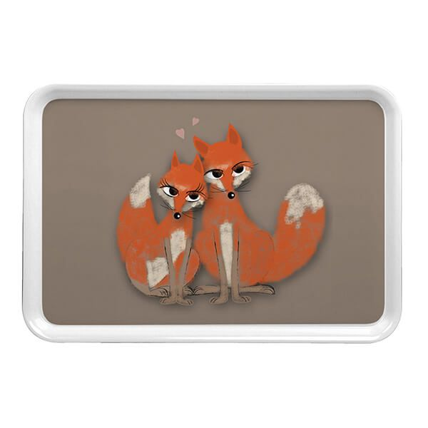 Melamaster Large Tray Fox