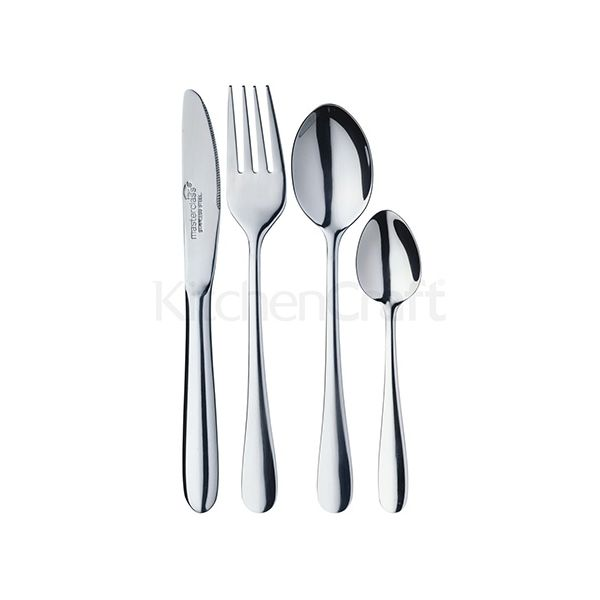 Master Class 4 Piece Childrens Cutlery Set
