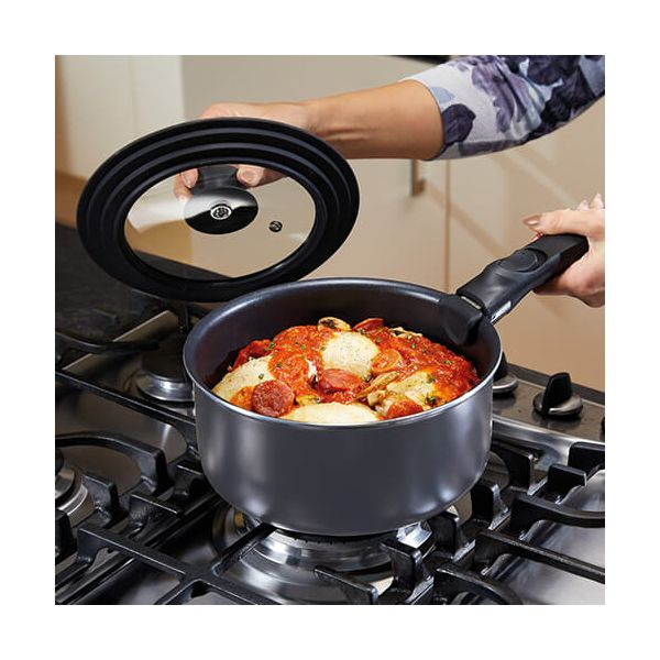 MasterClass Smart Space Three-In-One Saucepan Lid