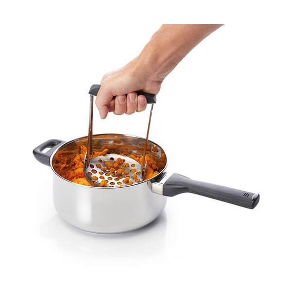 Master Class Smart Space Folding Stainless Steel Masher