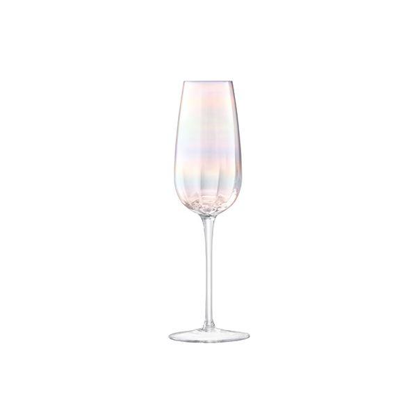 LSA Pearl Champagne Flute 250ml Set Of 4