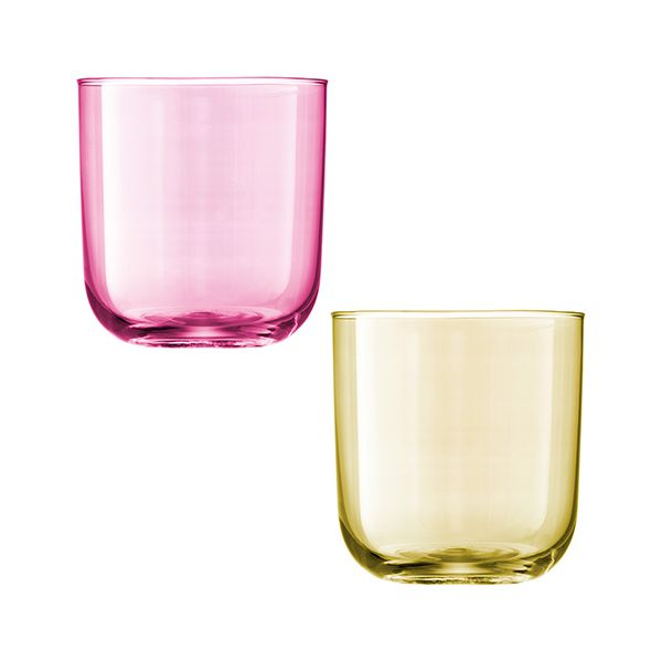 LSA Polka Pastel Tumbler 420ml Set Of Four