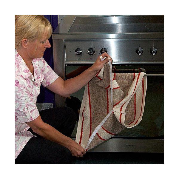 Range Towel Bordeaux Stripe