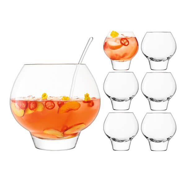 LSA Rum Punch Bowl Set