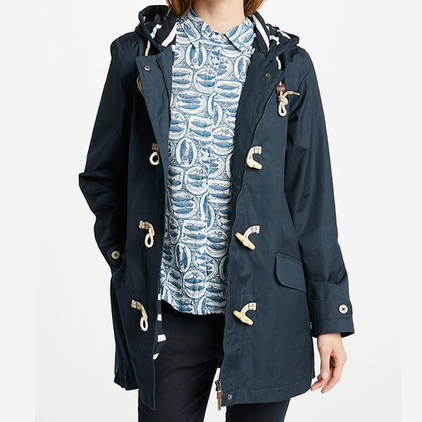 Seasalt Long Seafolly Jacket Squid Ink