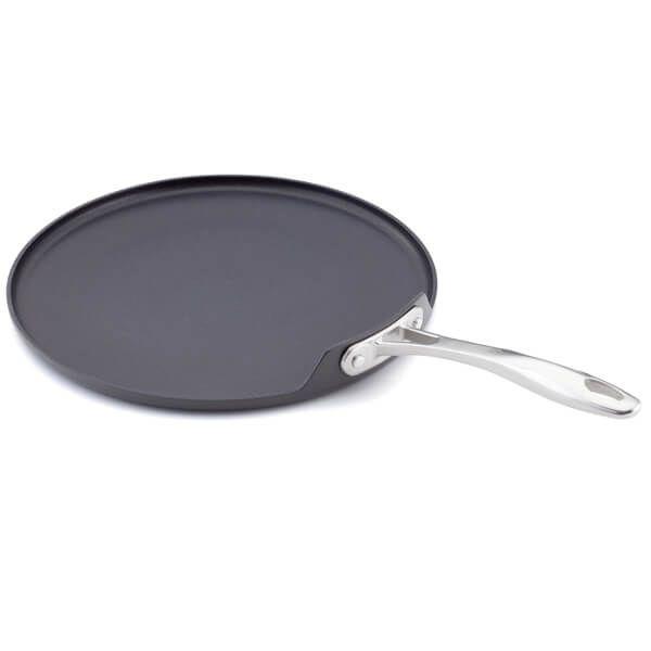Stellar 6000 Hard Anodised 30cm Crepe Pan Long Handle