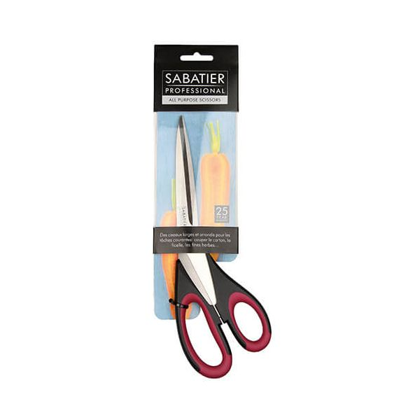Sabatier Professional Soft Grip 25cm / 10'' All Purpose Scissor