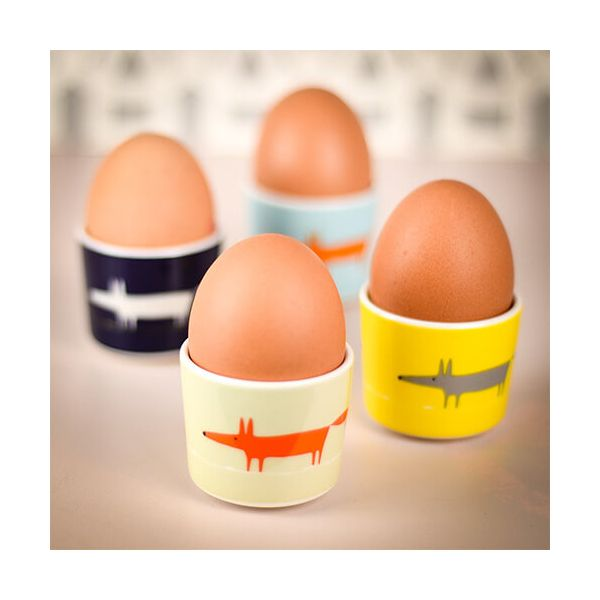 Scion Living Mr Fox Set Of 4 Egg Cups