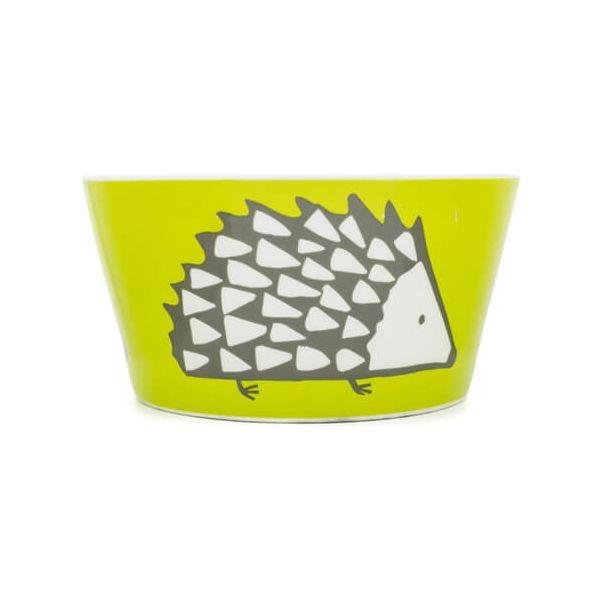 Scion Living Spike Olive Green Bowl