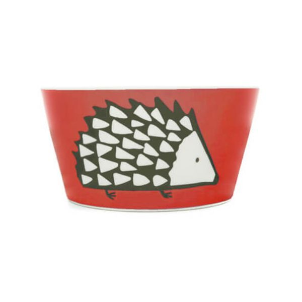 Scion Living Spike Red Bowl