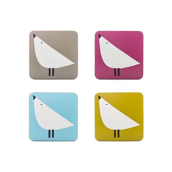 Scion Living Lintu Set Of 4 Coasters