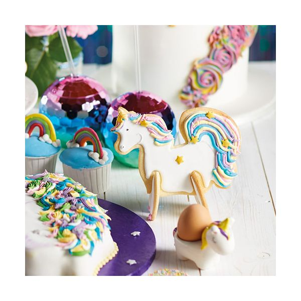 Sweetly Does It 3D Standing Unicorn Cookie Cutter Set of 5