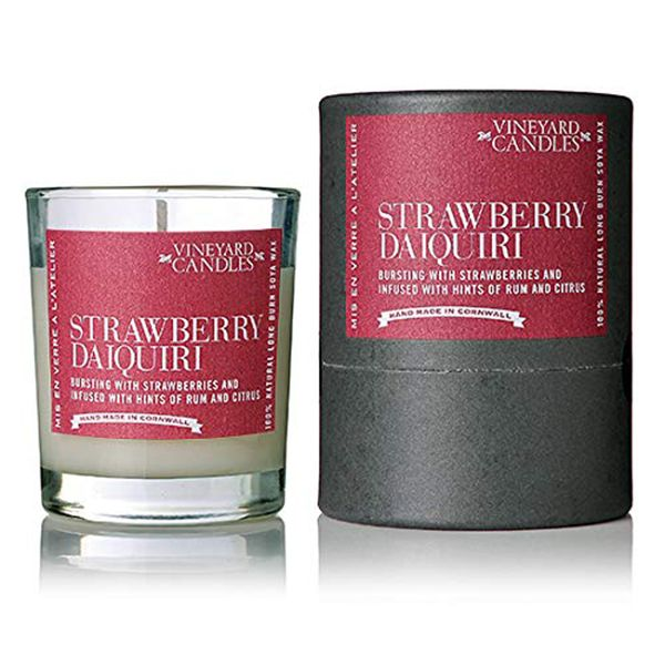 Vineyard Shot Glass Strawberry Daiquiri Candle