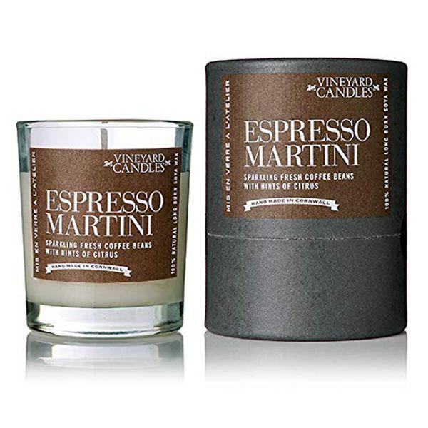Vineyard Shot Glass Espresso Martini Candle