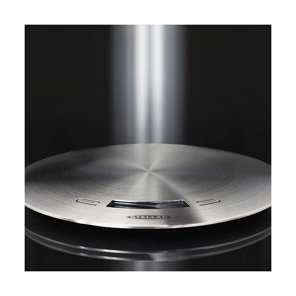Stellar Brushed Stainless Steel Slimline Digital Scale