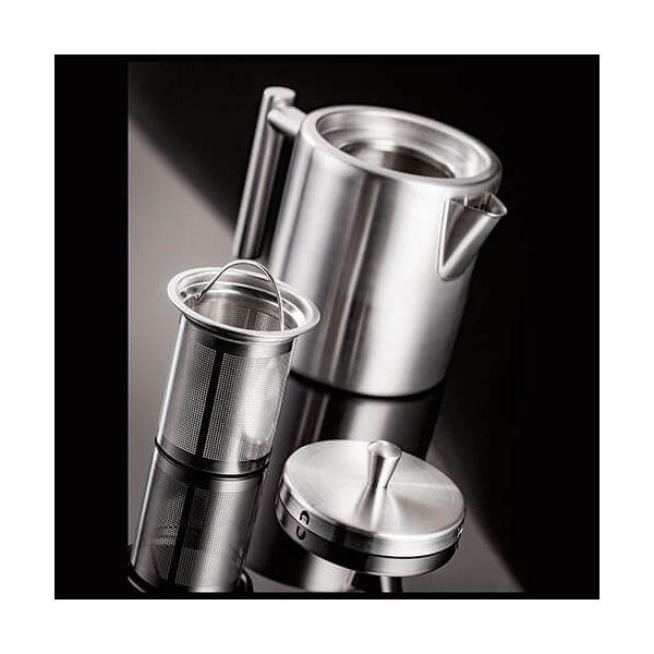Stellar Stainless Steel 4 Cup 800ml Oslo Teapot