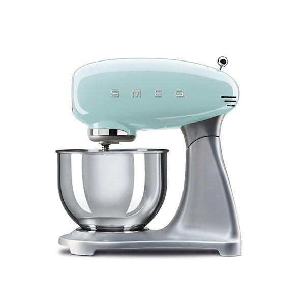 Smeg Stand Mixer, Pastel Green