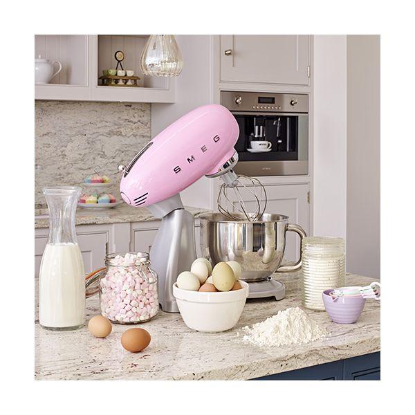 Smeg Stand Mixer, Pink