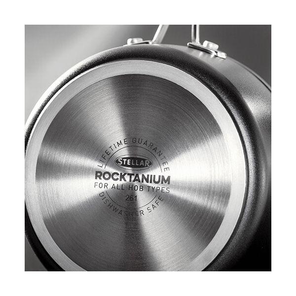 Stellar Rocktanium 3 Piece Saucepan Set