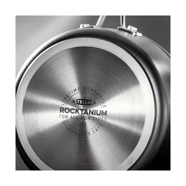 Stellar Rocktanium 5 Piece Cookware Set