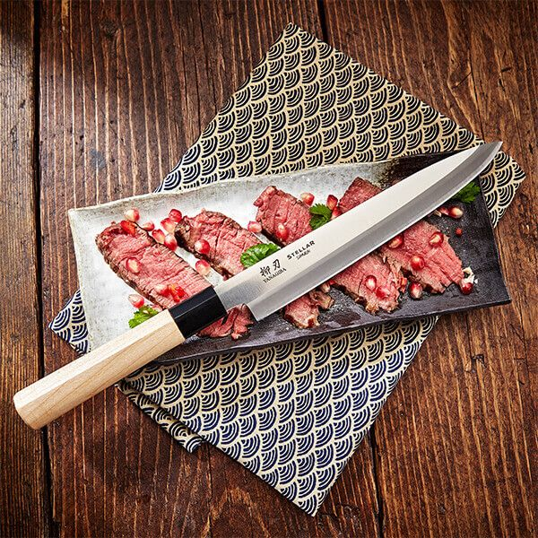"Stellar Samurai 8"" / 210mm Yanagiba Knife"