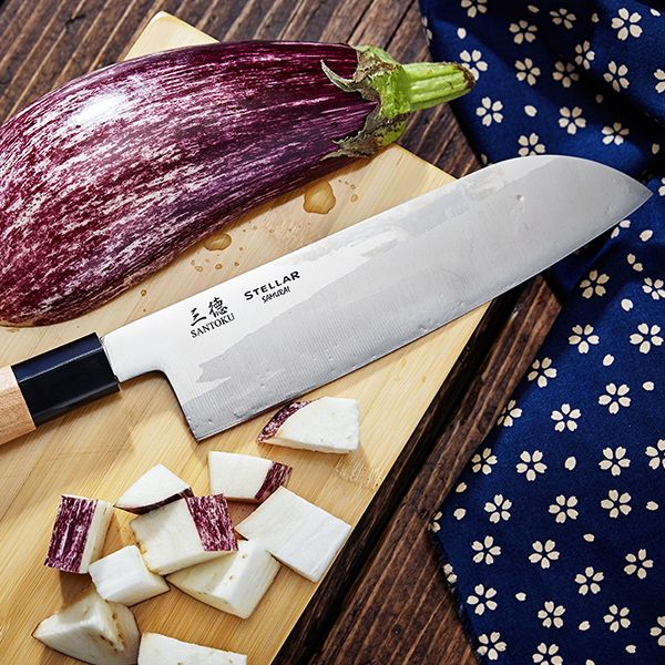 "Stellar Samurai 7"" / 180mm Santoku Knife"