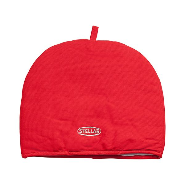 Stellar Red Tea Cosy