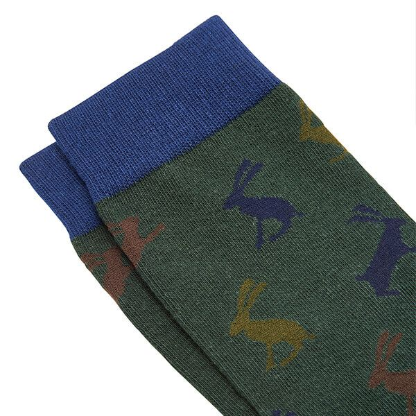 Joules Striking Camo Hare Socks 7-12