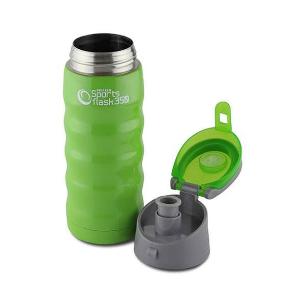 Pioneer Insulated Sports Flask 350ml Green