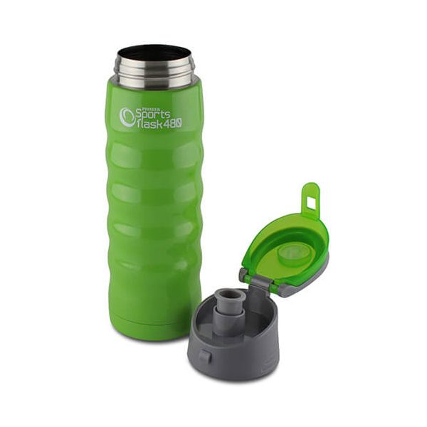 Pioneer Insulated Sports Flask 480ml Green