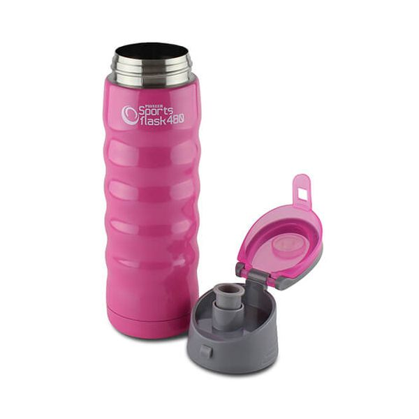 Pioneer Insulated Sports Flask 480ml Pink